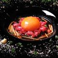 料理メニュー写真鹿児島県産 黒毛和牛ユッケ