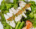 料理メニュー写真鶏KINGバンバンジーサラダ