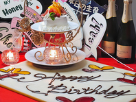 サプライズに★世界に一つだけのムービー&ホールケーキ