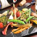料理メニュー写真カタルーニャ風 焼き野菜のサラダ Roasted Vegetables with Catalonia Style