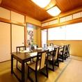 2階 個室 桜(SAKURA) 2名様~12名様