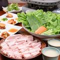 料理メニュー写真国産豚のサムギョプサル