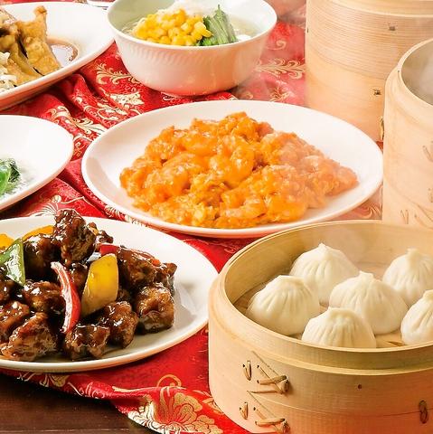 手作り小籠包とデザートの中華ビュッフェレストラン◇ランチ・宴会コースもございます
