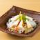 スモーク蛸とクリームチーズのサラダ