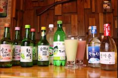 韓国家庭料理 黒豚の写真