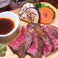 料理メニュー写真究極の肉バルコース【和牛ステーキ】
