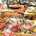 飲み放題付きのコースを各種ご用意しております♪新鮮なお刺身や多彩な料理をお楽しみください★