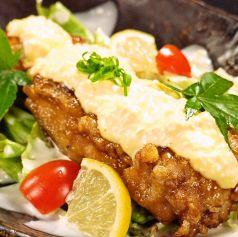料理メニュー写真薩摩鶏南蛮タルタル
