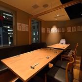 最大12名様で利用できる扉付きの完全個室です