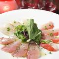 料理メニュー写真鮮魚のカルパッチョ 3点盛