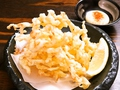 料理メニュー写真先イカ天ぷら