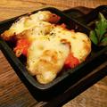 料理メニュー写真ポテトと明太子のチーズ焼き