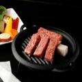 料理メニュー写真国産牛ステーキ