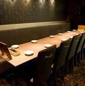 18名様用の個室テーブル席
