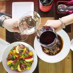 wineで乾杯♪テラス席で昼呑みは最高な気分で楽しんでいただけます★