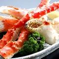 料理メニュー写真たらば蟹盛り