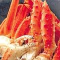 料理メニュー写真たらば・ずわい蟹盛り