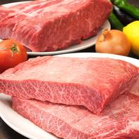 鉄板焼きメニューも豊富◎A5ランクのお肉は絶品!