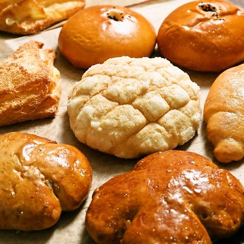 イートインコーナーがあるので焼き立てパンがその場で食べられる街の寛ぎパン屋さん☆