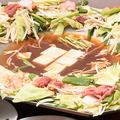料理メニュー写真ハナトゥルセ特製鉄板鍋