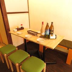 【2階】6名席は小宴会にも使えます☆3名からOK!