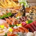 料理メニュー写真得【お勧め】漁港直送 海鮮お刺身盛り合わせ 3点盛り