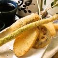 料理メニュー写真野菜串揚げ5種盛り合わせ
