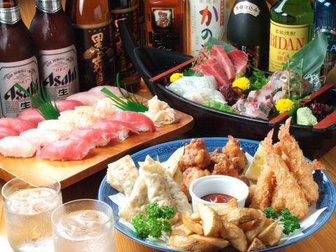 新鮮なお刺身はお酒に良く合う!大衆酒蔵日本海で一杯☆
