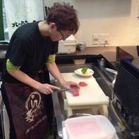 料理人の技が光る料理の数々