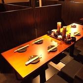 ほっこり飲みをしたいなら…テーブル席がお勧め。落ち付いた雰囲気に浸れます…。豊富なお席ございます。団体宴会、大人数宴会もお任せください。
