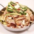 料理メニュー写真薩摩いも鶏鍋