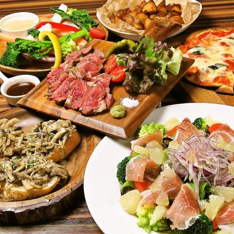☆2019年1月NEW OPEN☆肉と野菜の創作料理&月一のJazzライブが魅力のレストラン♪