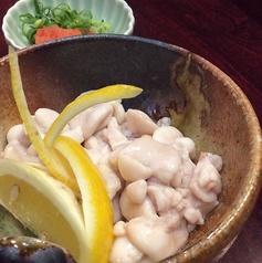 タラ白子ポン酢or天ぷら