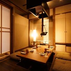 少人数個室♪落ち着いた雰囲気漂う個室は予約必須!