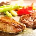 料理メニュー写真フォアグラソテー(バルサミコソース)