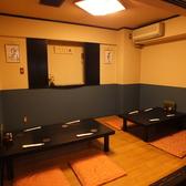 6~10名様でご利用可能なお座敷個室でごゆっくり落ち着いてお食事が可能なお座敷をご用意しております。