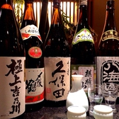 地酒は12種。時には季節物もあります。