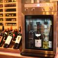 プレミアム飲み放題には、こちらのワイン鮮度維持セラー「ファンビーノ」でしっかりと品質管理がされたワインも飲むことができます♪