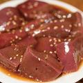 料理メニュー写真人気の豚レバー