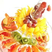◆豪華なフルーツ盛り合わせ