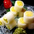 料理メニュー写真黄ニラのお刺身