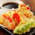 料理メニュー写真紅生姜の天麩羅