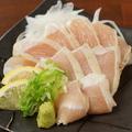 料理メニュー写真大山鶏むね肉のたたき