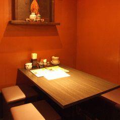 奥の空間はほっこり♪宮崎専門料理をご堪能