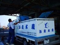 鮮度そのままの市場直送にて魚を仕入れ!