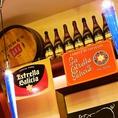那須高原地ビール、尾張千種地ビール などスペイン料理にあう地ビールやワインなど種類豊富にご用意しています★