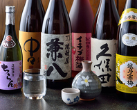 日本酒・焼酎が40種!