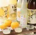 【豊富な柚子のドリンク】なんといっても種類豊富なゆず酒がオススメです!数多のゆず酒の中から、ゆずの小町厳選の銘酒を取り揃えております。