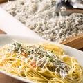 料理メニュー写真釜揚げしらすのペペロンチーノ