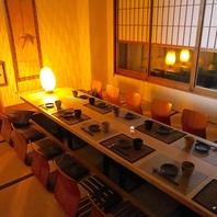 落ち着いた雰囲気の掘りごたつ個室♪(恵比寿本館)